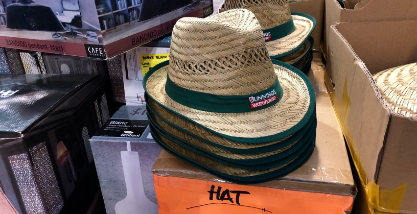 e4feb4d78 Local dweeb gets Bunnings trilby because he's not enough man for ...